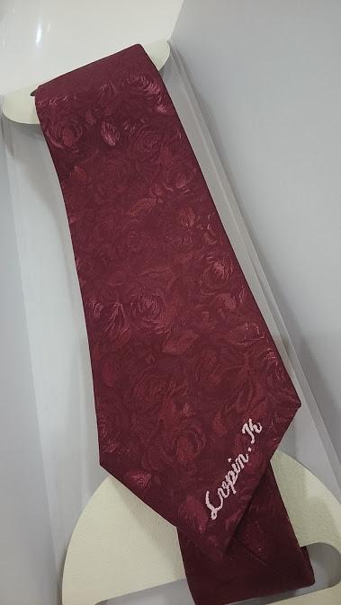 ネーム刺繍ネクタイl
